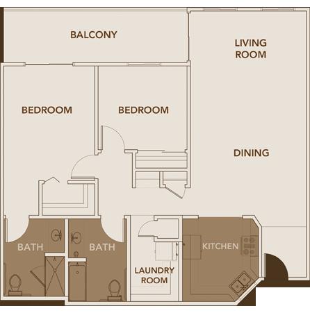 Apartment Plan 6 Floor Layout