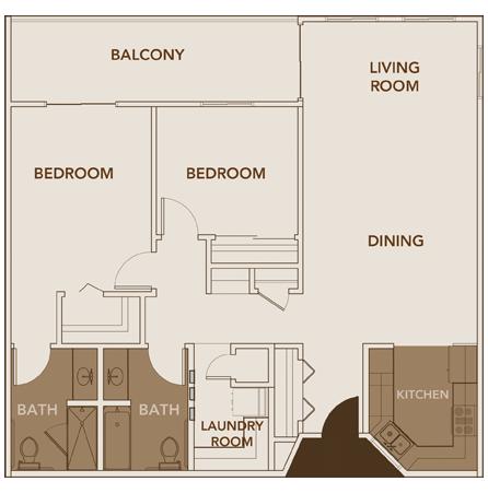 Apartment Plan 4 Floor Layout