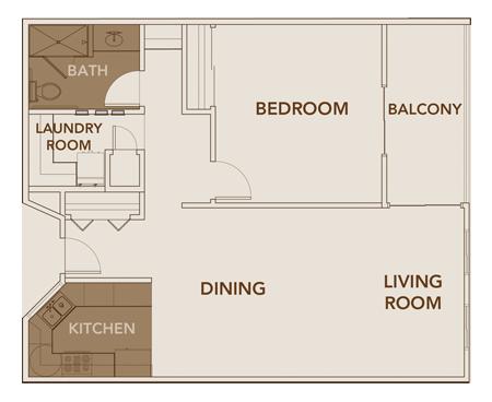 Apartment Plan 5 Floor Layout