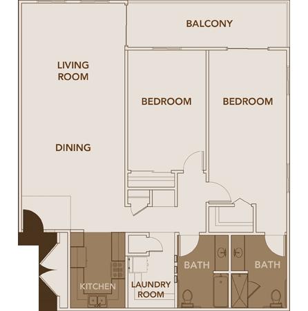 Apartment Plan 7 Floor Layout