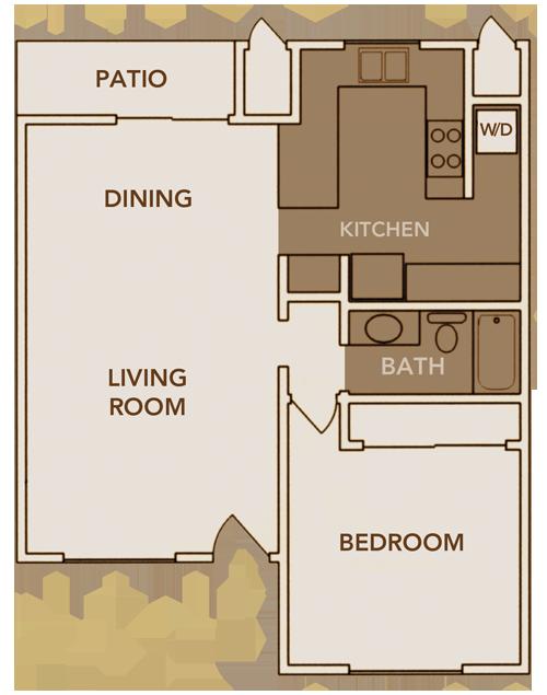 Cottages Plan 1 Floor Layout
