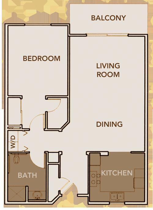 North Apartment Plan 3 Floor Layout