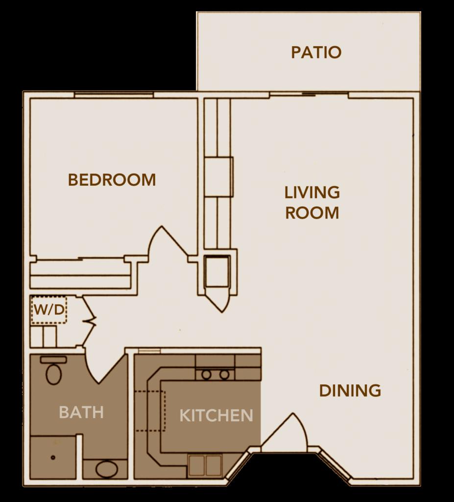 Apartment Plan 2 Floor Layout